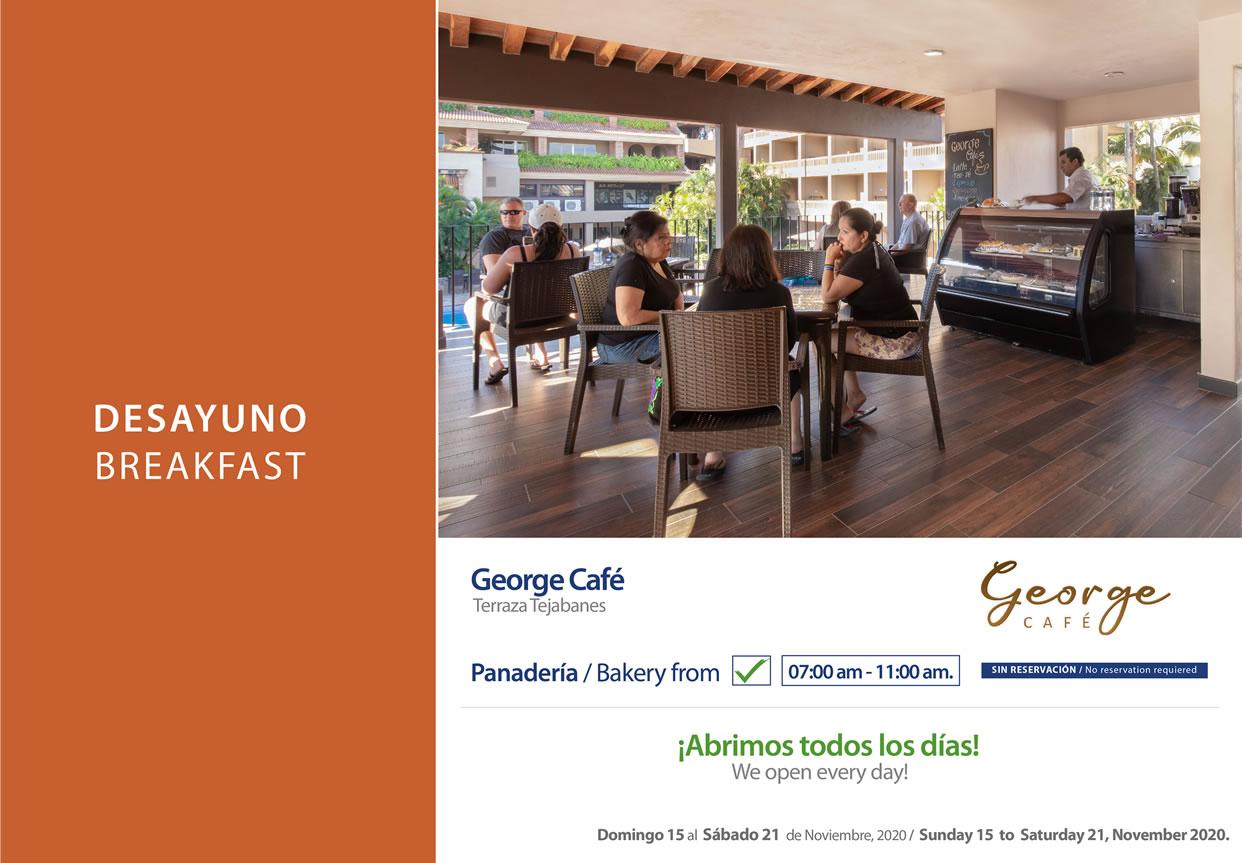 George Cafe November 15-21 2020
