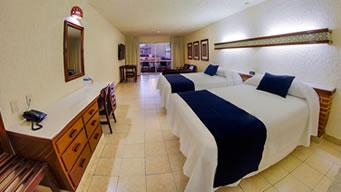 Hospédate en la habitación Vista a la Alberca de Hotel Playa Mazatlán