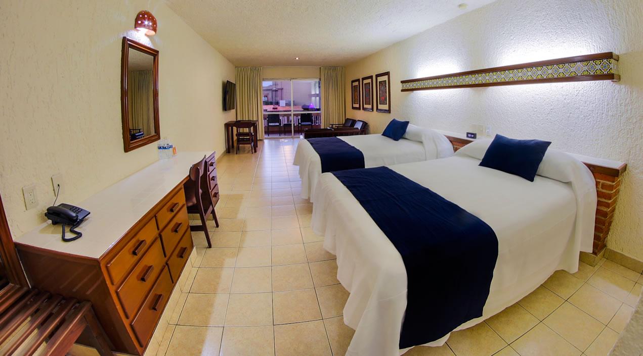 Hotel Playa Mazatlan Pool view rooms