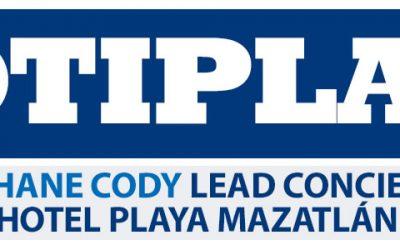 Él es Shane Cody lead Concierge en Hotel Playa Mazatlán