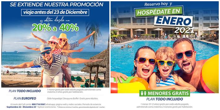 Promociones de Hotel Playa Mazatlán