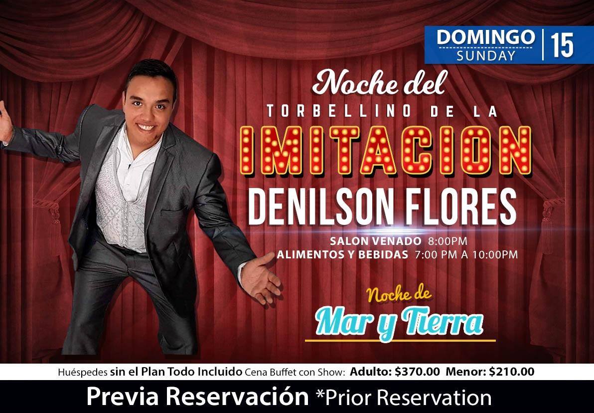 Show de Imitación salón Venado Domingo 15 de Noviembre 2020