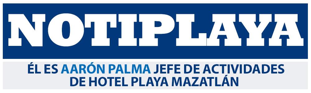 Él es Aarón Palma Jefe de Actividades de Hotel Playa Mazatlán