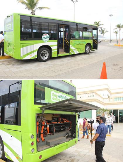 Transporte Urbano Eléctrico en Mazatlán