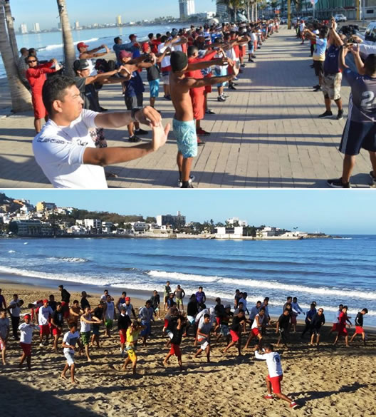 Salvadidas de Mazatlán se preparan para el Próximo periodo vacacional de Semana Santa