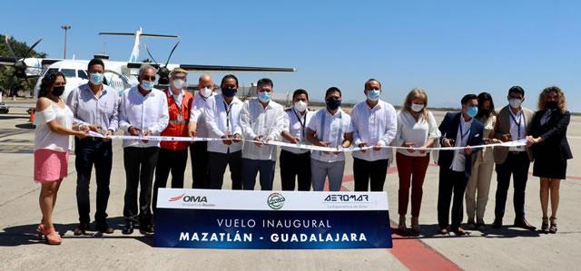 Semana Santa vuelos Guadalajara Mazatlán AEROMAR