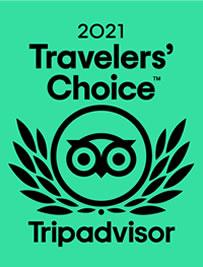 Travelers Choice 2021 by Tripadvisor