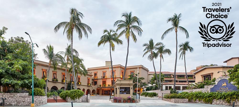 Hotel Playa Mazatlan receives Travelers' Choice Award 2021