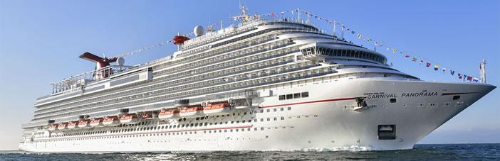 Crucero Carnival Panorama llega a Mazatlán