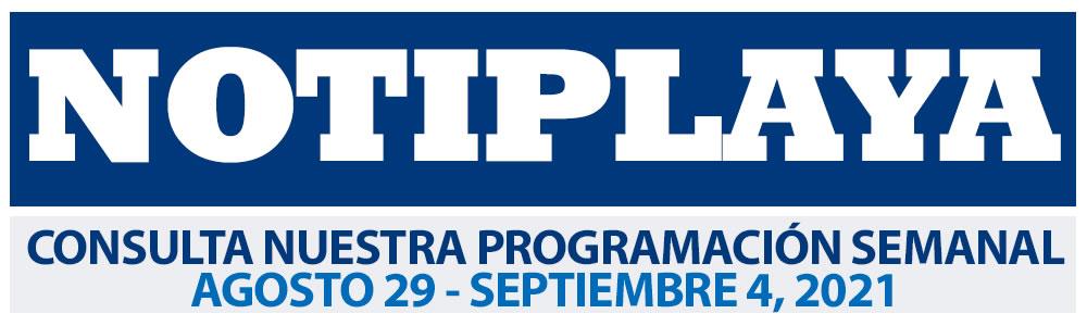 Consulta nuestra Programación Semanal del 29 de Agosto al 3 de Septiembre 2021