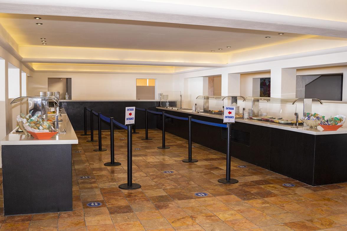 Servicio de Buffet de Restaurante La Terraza