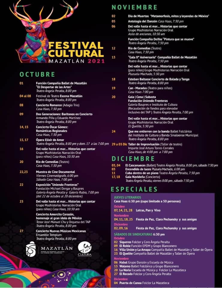 Festival Cultural Mazatlán 2021
