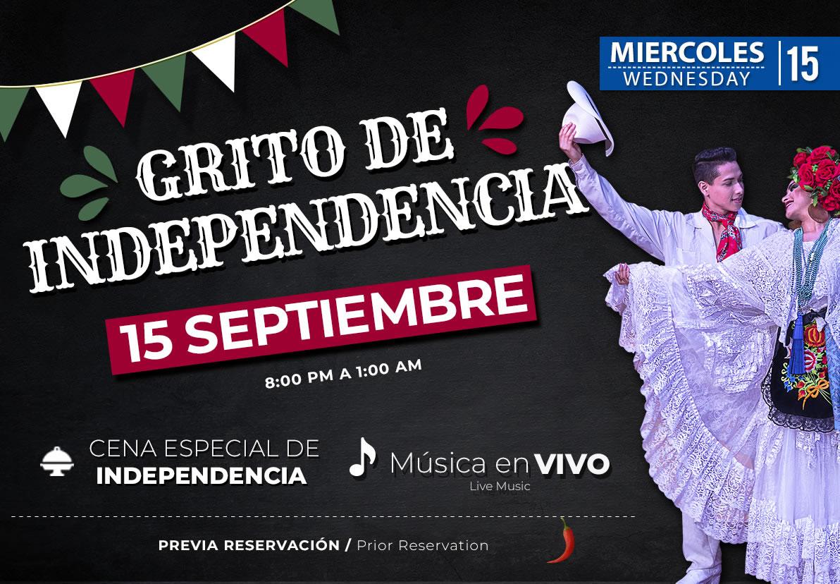 Fiesta Mexicana 15 de Septiembre 2021